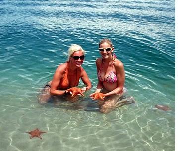 Starfish-Strand in Bocas del Toro, Panama